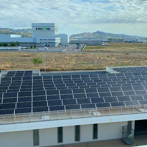 paneles solares industria castellon